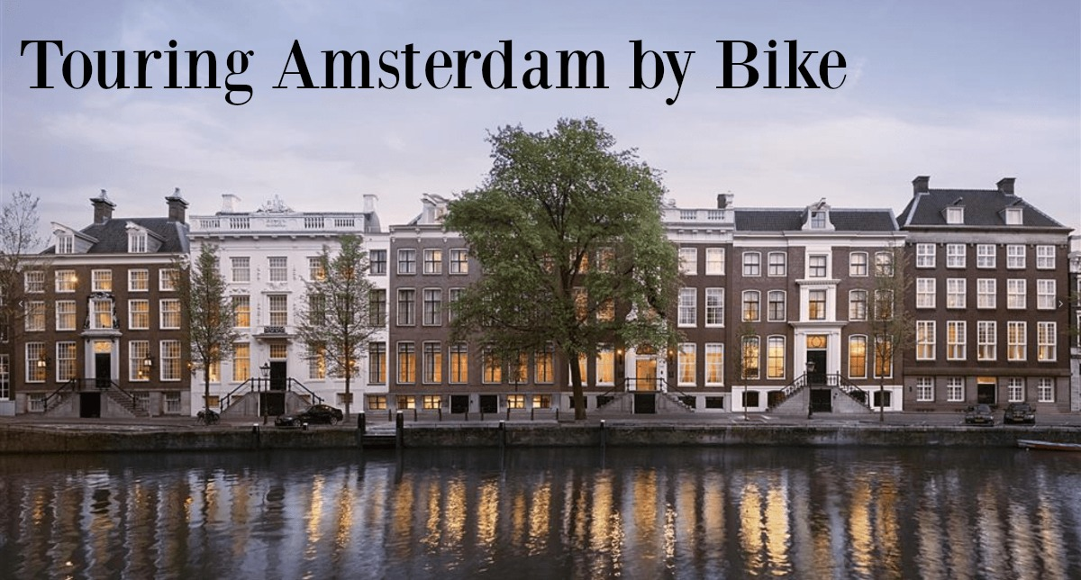 Touring Amsterdam by bike